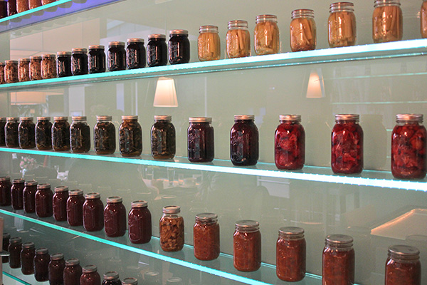 The jams and preserves were easy compared to chef Greg Biggers's challenges making cheese.