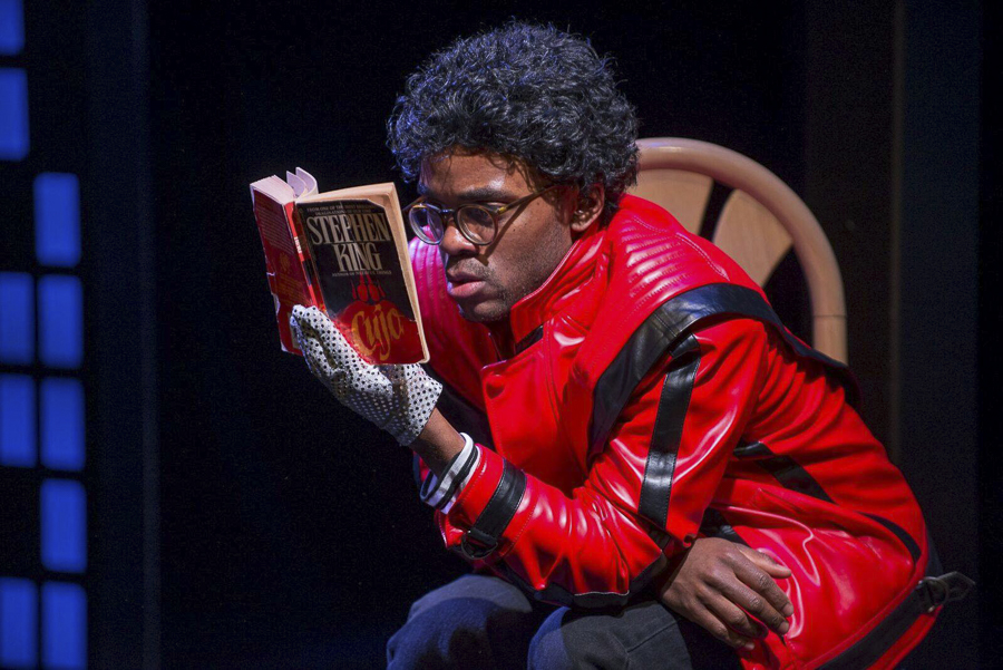 Travis Turner in Windy City Playhouse's <i>Bootycandy</i>