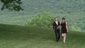 Michael Welch and Michelle Hendley in <i>Boy Meets Girl</i>