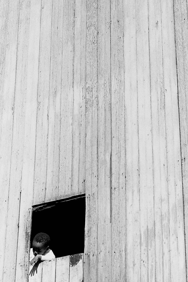 "<em>Boy in Window</em> from the 1973 ""Through Eyes of Blackness"" exhibit"