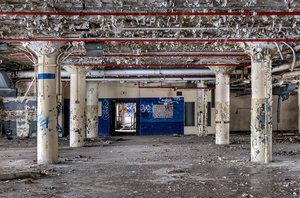"""One of Katherine Hodges's earliest urbex adventures occurred with a Meetup group called Chicago in Decay, which organized an expedition to the old Brach's candy factory. """"There's that thrill of being somewhere you're not supposed to be,"""" Hodges recalls."""