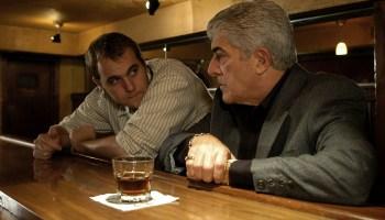Brian Caunter and Frank Vincent at La Villa Restaurant