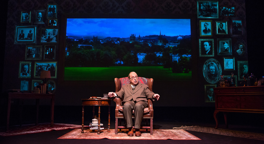 Max McLean in <i>C.S. Lewis Onstage: The Most Reluctant Convert</i>