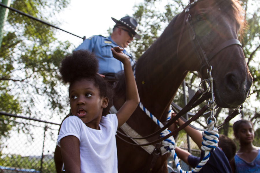 In the first seven months of this year, several police districts had more than 100 public CAPS events, while others had fewer than 40.