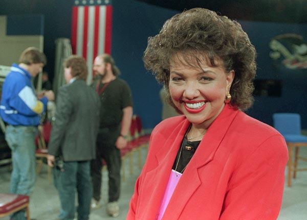 Carole Simpson, in 1992