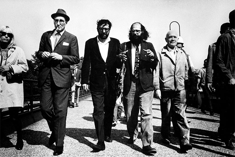 Burroughs, Terry Southern, Ginsberg, and Genet