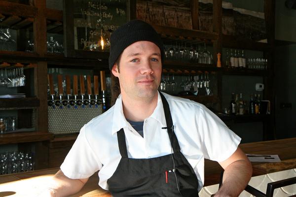 Chef Chris Pandel of the Bristol.