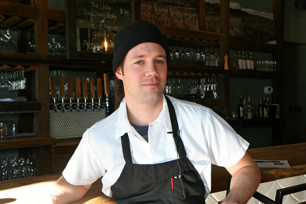 Chef Erling Wu-Bower of the Publican