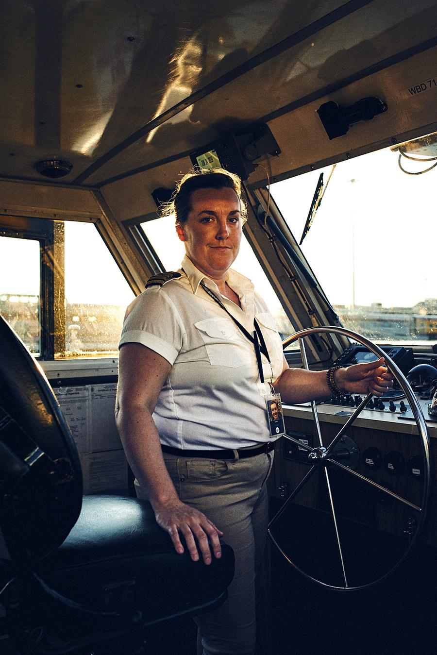 Captain Chloe West