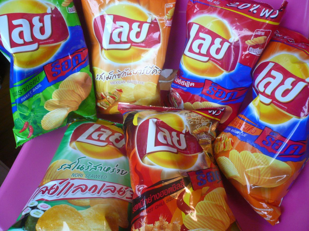 Thai Lay's potato chips