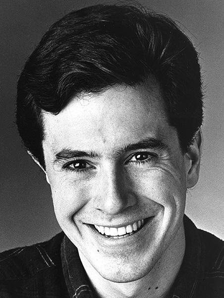 An early Colbert headshot