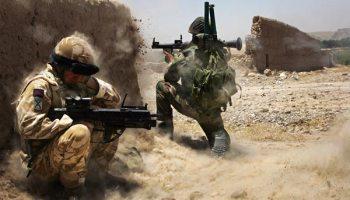 <i>Afghanistan: British and Afghan troops battle Taliban</i>