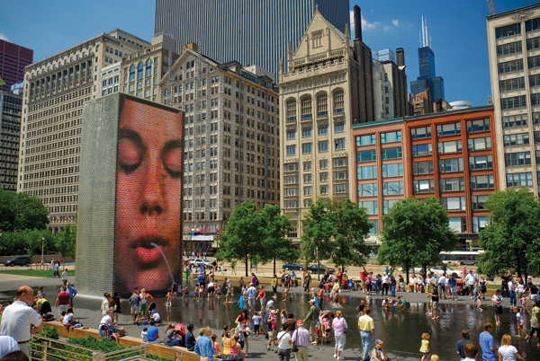 Will the Crown Fountain of the future be the spitting image of the one we know today?