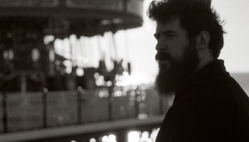 Music Box projectionist Daniel Knox can look pretty cinematic himself