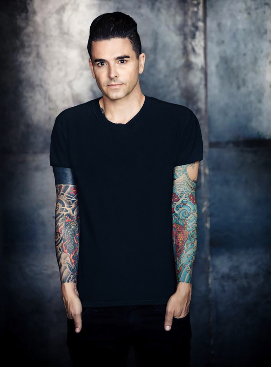 Chris Carrabba and his band Dashboard Confessional play the Riot Stage on Friday at 6:35 PM.