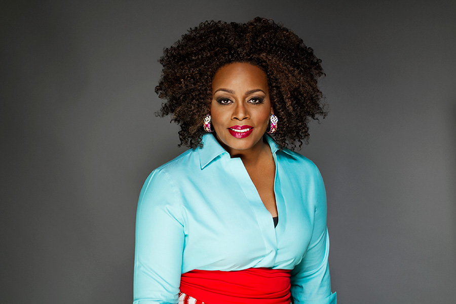 Dianne Reeves performs Friday at 7:45at Pritzker Pavilion.
