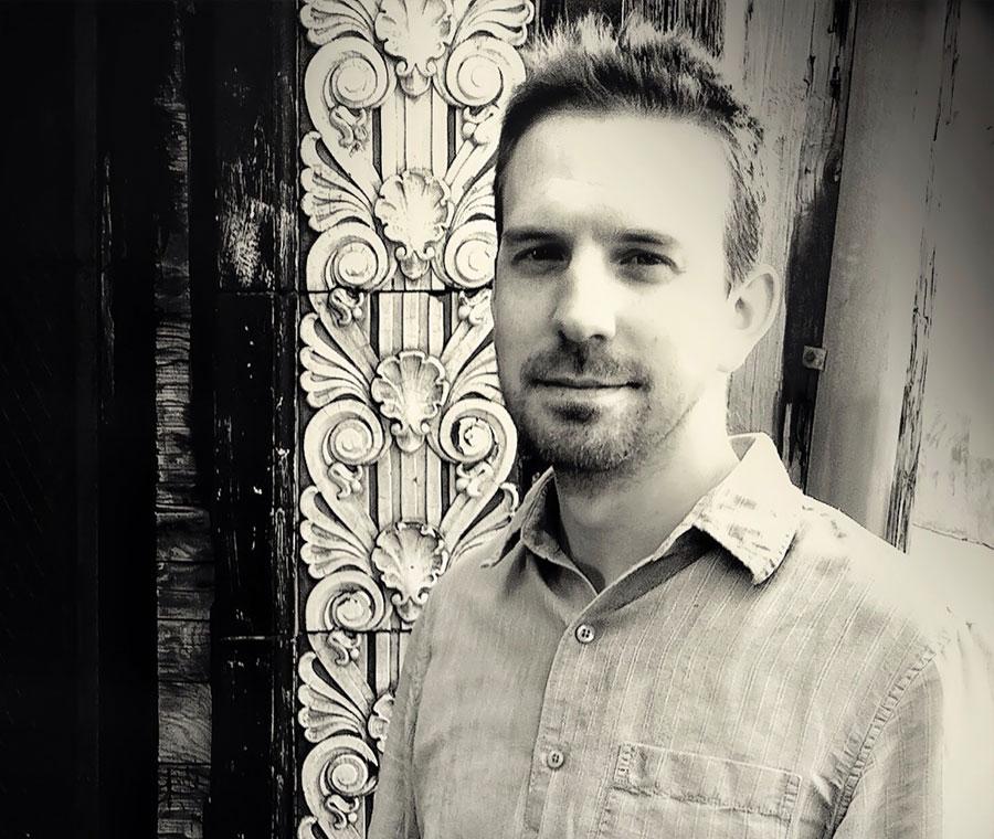 Composer Drew Baker