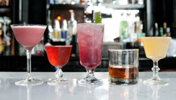 Selections from the dudless menu at Scofflaw