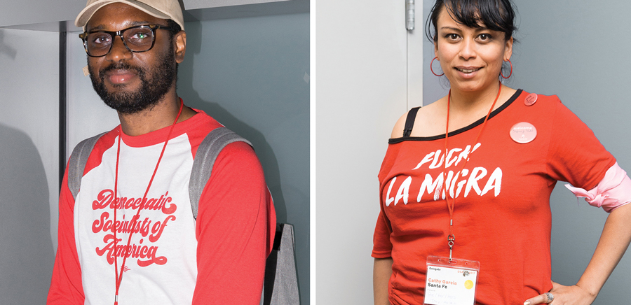 DSA conference attendees displayed their camaraderie.