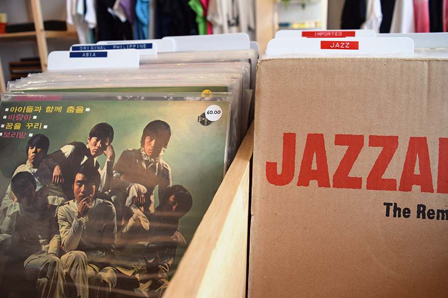 Beltran and Bowden's collection includes many hard-to-get records from Asia.