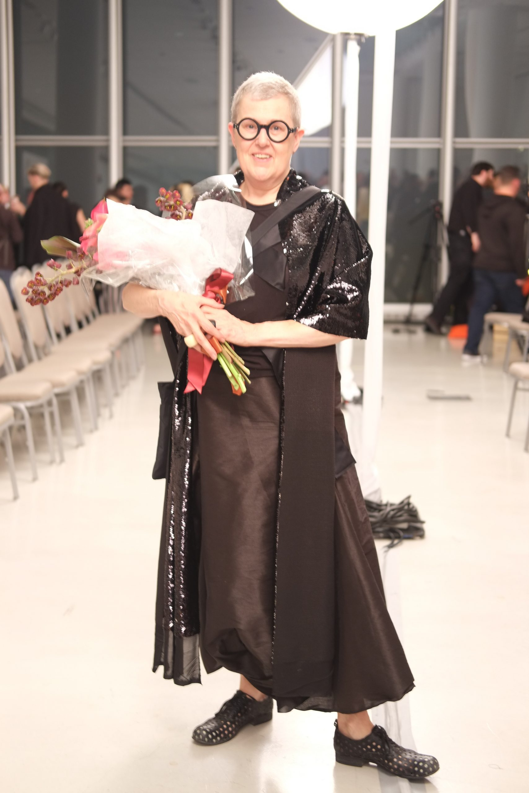 SAIC professor and accessory designer Gillion Carrara was an honoree this year. She will be leaving her position as the director of the Fashion Resource Center to dedicate more time to her designs.