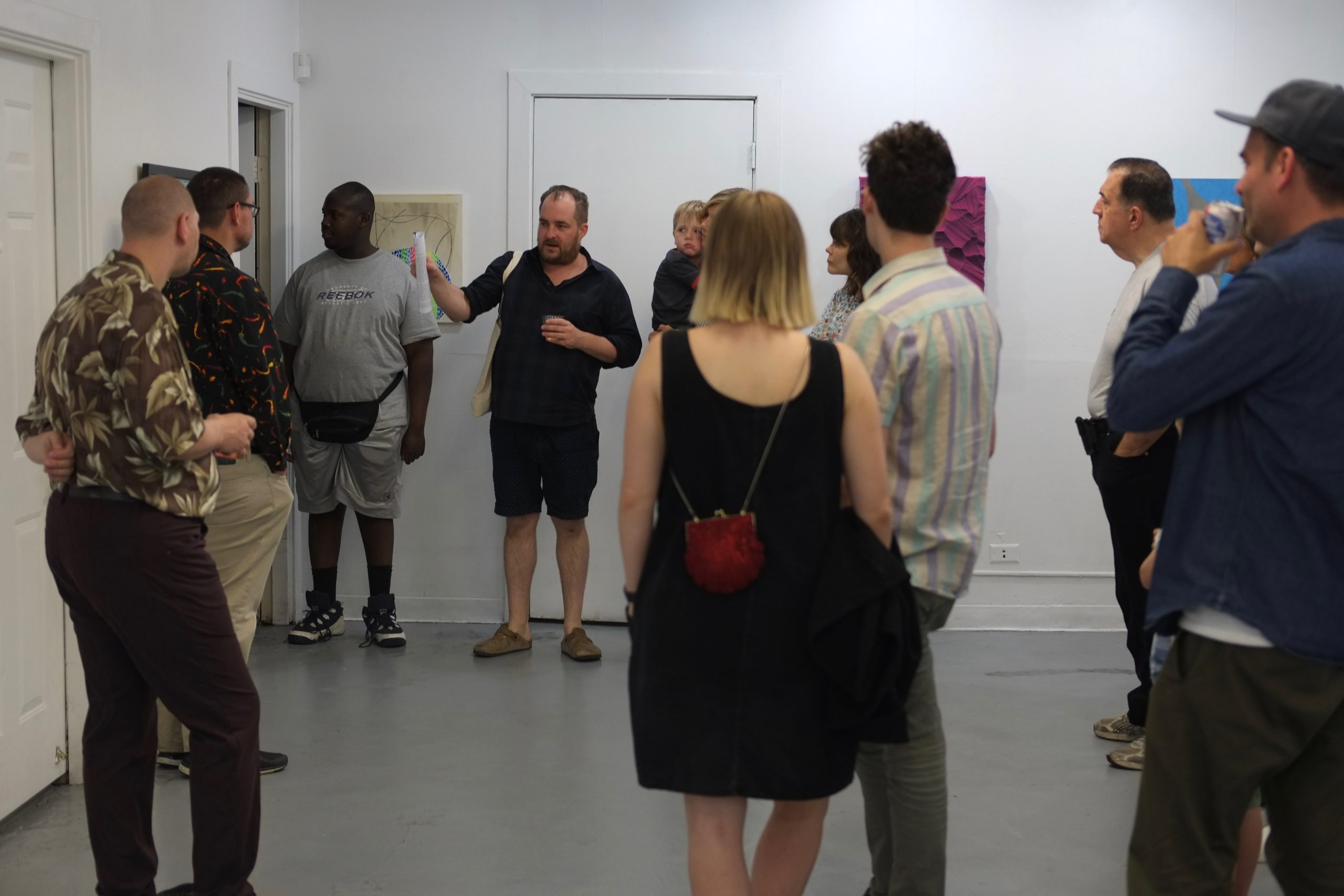Cocurator and Arts of Life executive board member Andrew Rafacz gives a tour of the show.