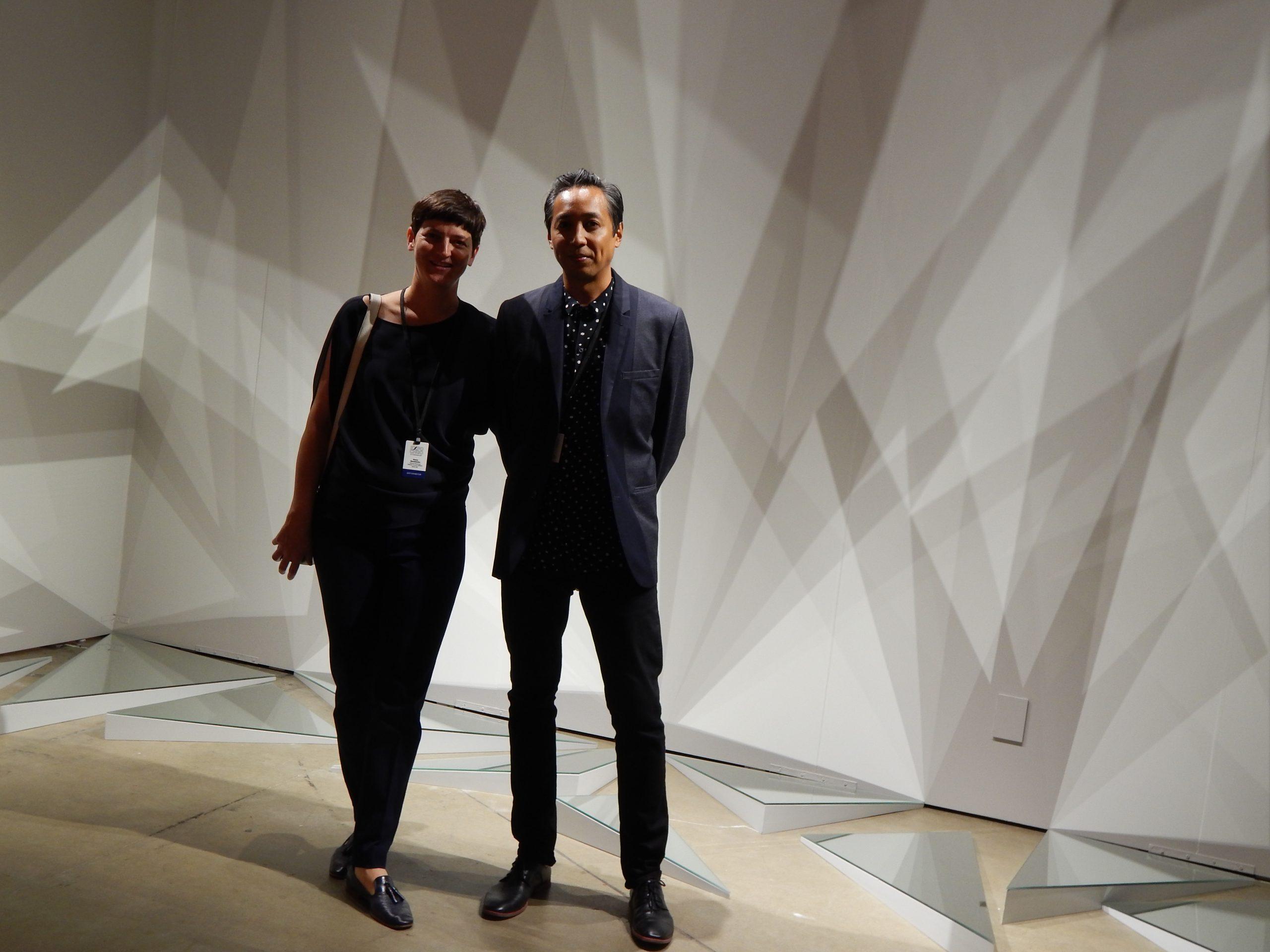 Luftwerk's Petra Bachmaier and Sean Gallero