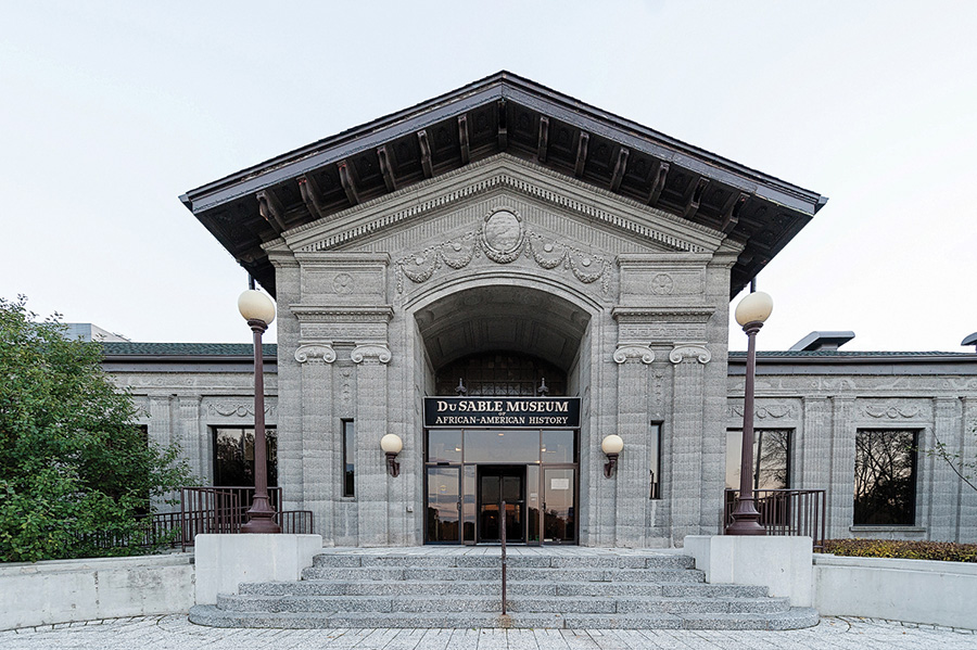 The DuSable Museum of African American History is one of the biennial's anchor sites.