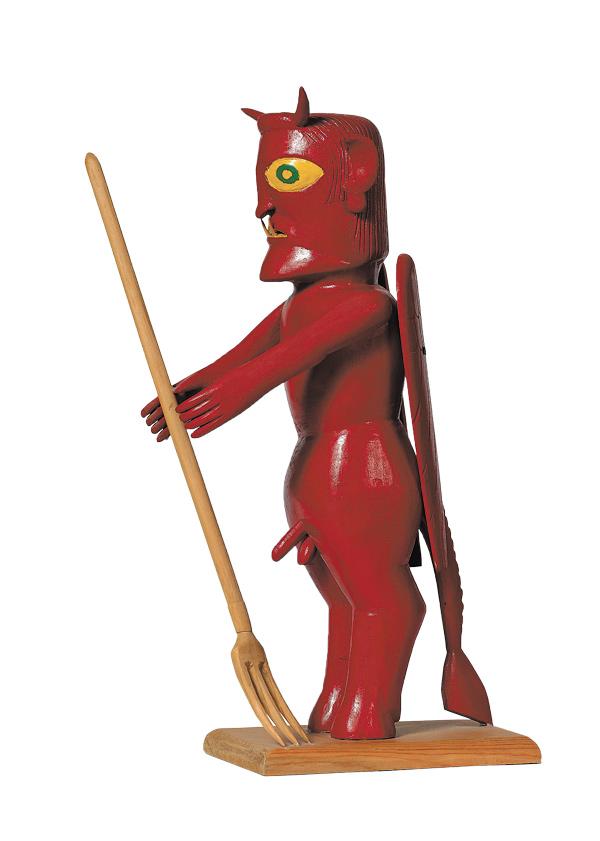 Boogerman (Devil Figure) by Earnest Patton