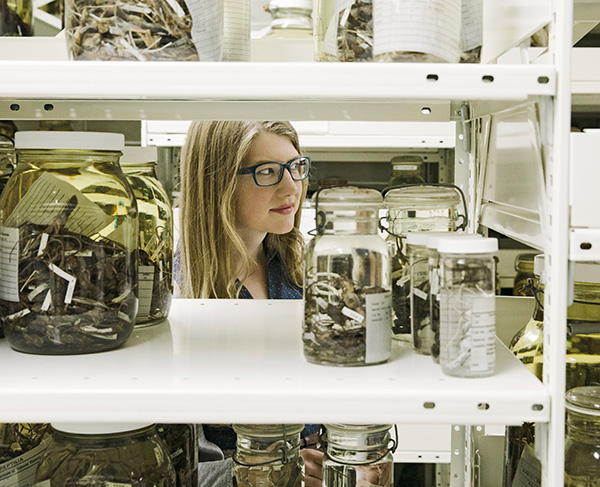 Emily Graslie is the Field Museum's first-ever chief curiosity correspondent.