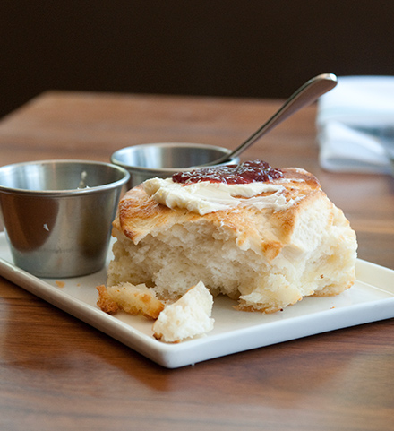 Come for the biscuit. Stay for the biscuit.