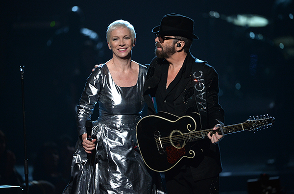 The Eurythmics in 2014