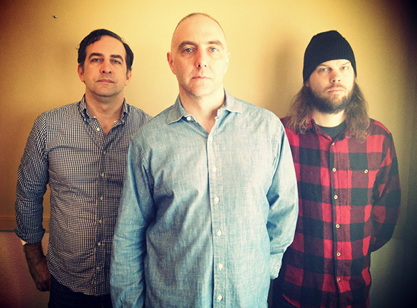 The original lineup of Exit Verse: John Dugan (since replaced by Chris Dye), Geoff Farina, and Pete Croke
