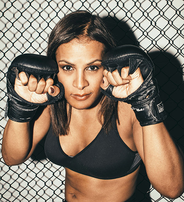 Being an out trans MMA pro has been a battle for Fallon Fox, but she says the life fits her like a glove.