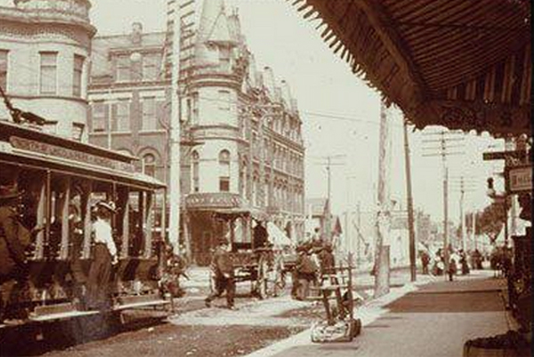 North/Damen/Milwaukee Avenue circa 1905