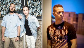 Flosstradamus (left) and Dutch Master (right) found themselves remixing legal documents last month