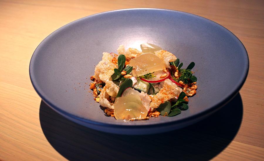 Ashlee Aubin, chef at Salero and Wood restaurants, turned to tuna salad for inspiration.