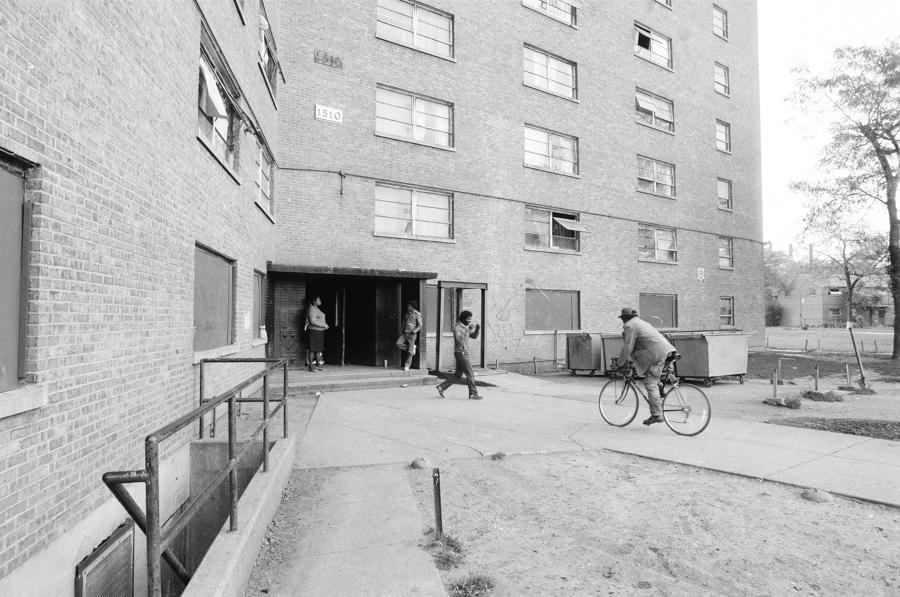 An ABLA building circa 1988