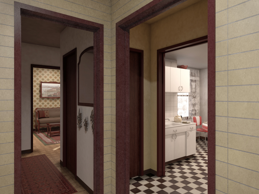 The National Public Housing Museum will re-create apartments of three families who resided in the Jane Addams Homes.
