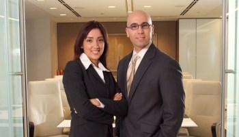 Haydee Caldero and Nick Delgado