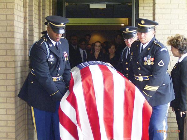 John Torres's funeral