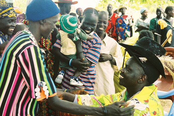 Garang Mayuol is reunited with his mother.