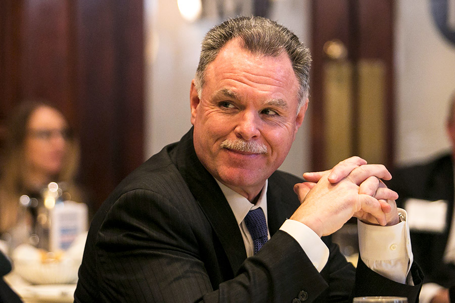 Former Chicago Police Department superintendent, now mayoral challenger Garry McCarthy