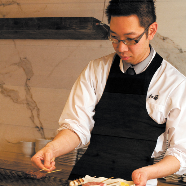 """Gene Kato of Sumi Robata Bar, which is all about """"proper and minimal application of technique"""""""