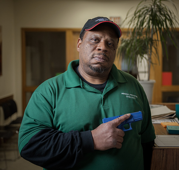 Gerald Vernon has been a firearm owner and activist for decades, but he doesn't fit the stereotype of a gun nut.