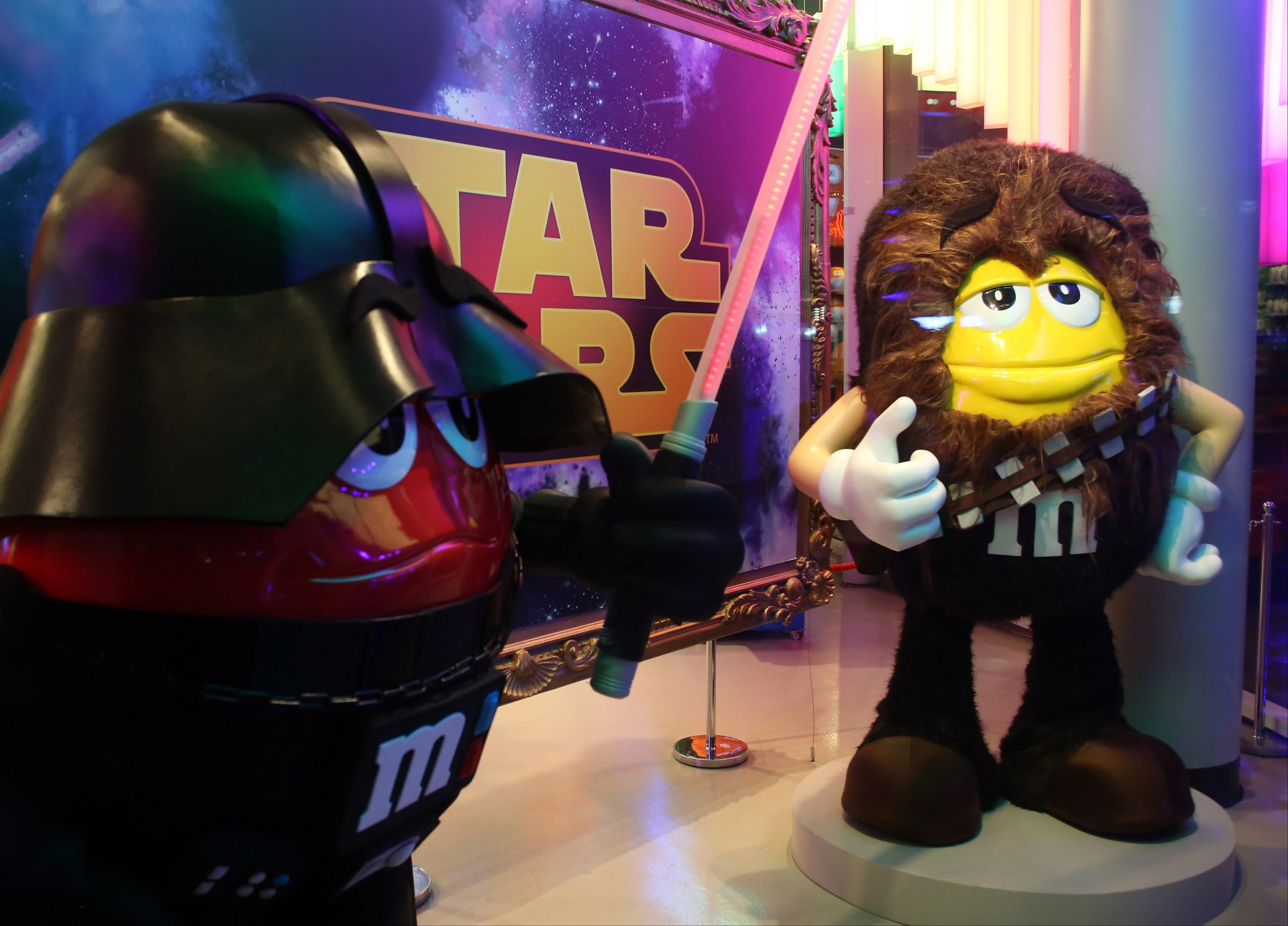 What brand hasn't attached itself to the new <i>Star Wars</i> film?