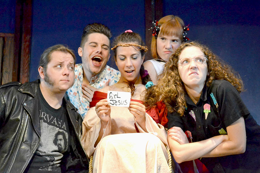 <i>Girl Jesus: Resurrected and Back to School!</i>, at the Public House Theatre