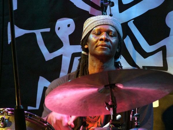 Artist in residence Hamid Drake leads a different band on each of the festival's four days.