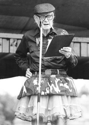 Mattachine founder Harry Hay in 1979