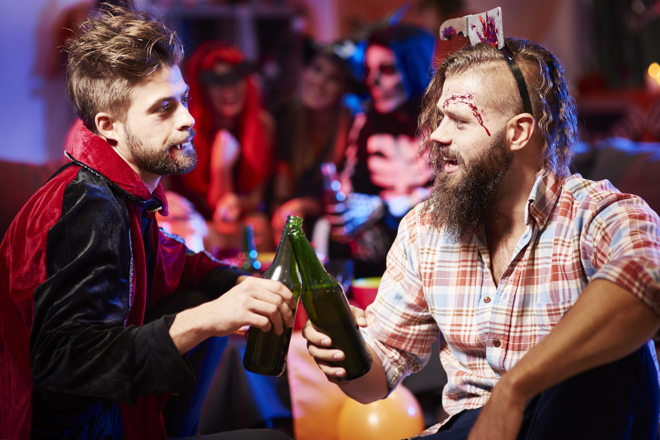 Spooky patrons take over Emporium Arcade Bar's Haunted Hotel this week.
